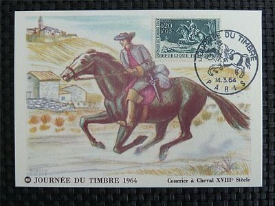 Stamps France Mk 1978 Versailles Louis Xiv Horse Pferde Carte Maximum Card Mc Cm C1199 Stamps