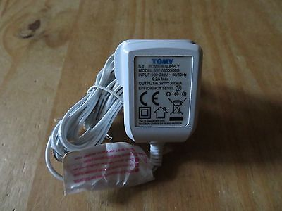 TOMY Main Adaptor For  Baby Monitor SW-060030BS 6V 024
