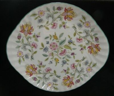 Minton HADDON HALL cake plate ~ 2nd quality ~ Lovely condition