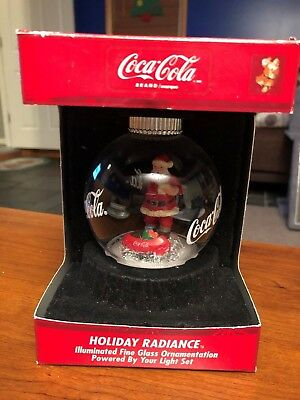 Coca-Cola Holiday Radiance Ornament