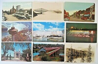 LOT of 25 Canada Antique & Vintage Postcards - Nice Selection