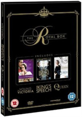 Colin Firth, Geoffrey Rush-King's Speech/The Queen/The Young Victoria DVD NEUF