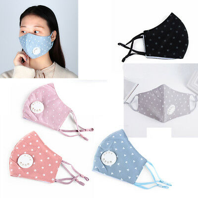 Respiratory Health Care PM2.5 Mouth Mask Mouth Respirator Anti-Dust Half Face