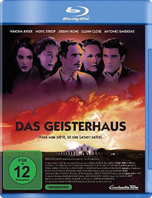 The House of the Spirits NEW Cult Blu-Ray Disc B. August M. Streep J. Irons