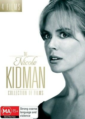 The Nicole Kidman Collection Of Films (DVD, 2017, 4-Disc Set) New & Sealed R4