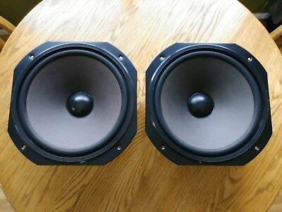 """Jensen 3152 Pair of 15"""" Woofers, 099-20244, Tested Working Perfect Exc Condition"""