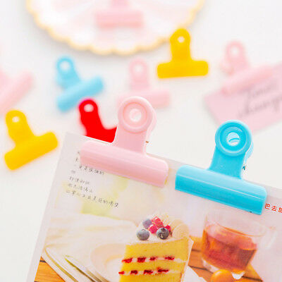 Candy Color Home Fashion Food Clips Sealing Clamp Kitchen Tool Snack Bag Sealer