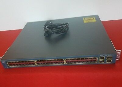 Cisco WS-C3560G-48PS-S Catalyst 3560G 48-Port PoE Gigabit Ethernet-Switch