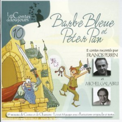 Compilation-Barbe Bleue, Peter Pan CD NUOVO