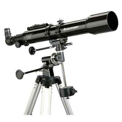 Celestron 21037 PowerSeeker 70EQ Telescope W/ 165x Maximum Magnification