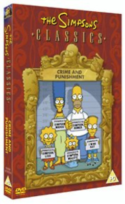Simpsons: Crime and Punishment DVD NUEVO