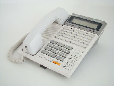 Panasonic KX-T7230 Digital Speakerphone White B Stock REFRB WRNTY