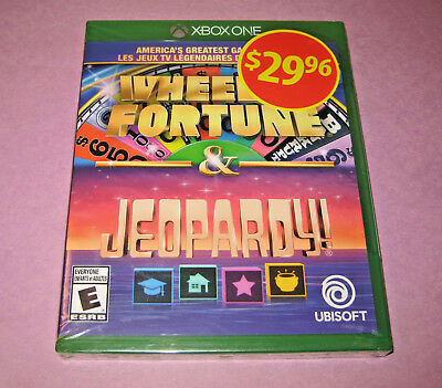 America's Greatest Game Shows: Wheel of Fortune & Jeopardy XBOX ONE NEW SEALED