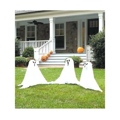 Small Light-Up Ghostly Group Decoration. Forum Novelties. Free Delivery