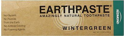 Earthpaste Natural Toothpaste, Redmond Trading Company, 4 oz Wintergreen