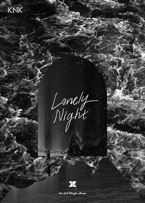 KNK [LONELY NIGHT] 3rd Single Album CD+Photo Book K-POP SEALED