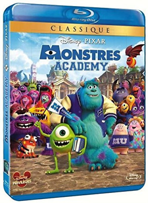 Crystal, Billy-Monstres Academy [Blu-Ray] [Fr Import] BLU-RAY NEUF