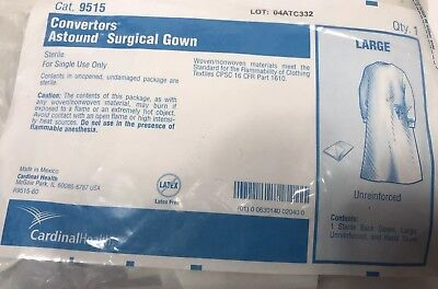 NEW Cardinal Health Converters Astound Standard Surgical Gown Large  R9515-60 #M
