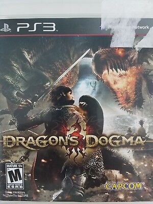 Dragon Dogma  PS3, Play Station 3 Case and Manual    T25