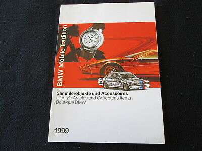 1999 BMW Mobile Tradition Brochure Dix 507 2002 M 635CSi M1 Models Pins Watches