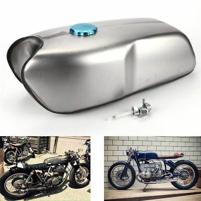 Vintage Cafe Racer Motorcycle Fuel Tank Bare Steel Thick For Yamaha RD50 RD350