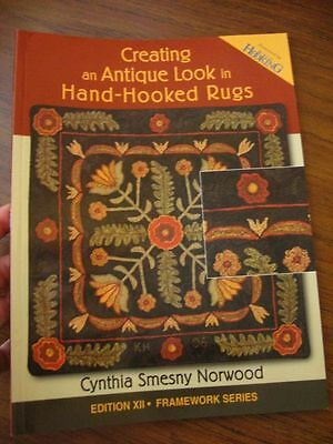 Rug Hooking magazine Creating Antique Look in Hand Hooked how to edition XII
