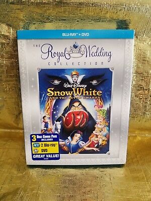 Snow White and the Seven Dwarfs (Blu-ray/DVD, 2009) Royal Wedding edition