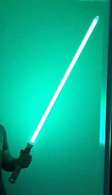 "LUKE SKYWALKER ROTJ 46"" long Master Replicas Force FX Lightsaber Removable Blade"