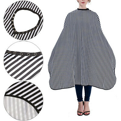 Waterproof Salon Hair Cutting Cape Hairdressing Hairdresser Cloth Gown Barber UK