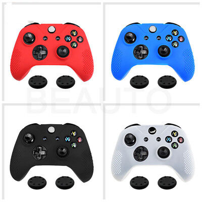 Soft Rubber Protector Silicone Grips Skin Case Cover for XBOX ONE S Controller
