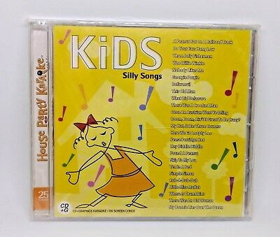 Kids Silly Songs CD, House Party Karaoke