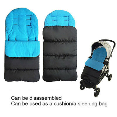 Baby Stroller Liner Removable Car Seat Mat Pad Cushion Washable Crystal Velvet G