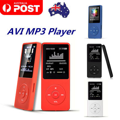 Multifunction Music AVI MP3 Player 8GB 70 Hours Playback Lossless Sound AU