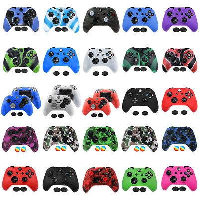 Soft Thumb Caps Grips Silicone Case Cover Skin for Xbox One S X Elite Controller