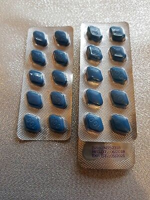 2 X 10 Mens  Sex Aid Tablets Best Available Guaranteed RRP £50