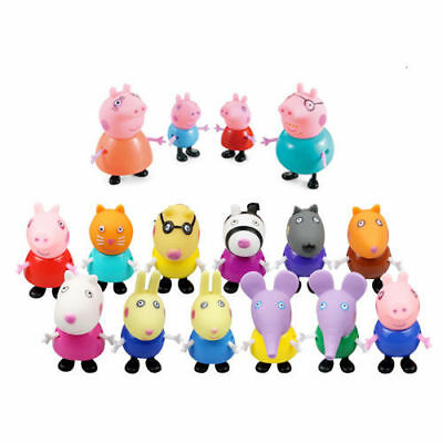 Kids Toys 10 Friends Action Figures Gift Emily Rebecca Christmas Gifts