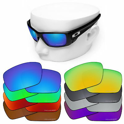 6655008baa OOWLIT Polycarbonate Lenses for-Oakley Polarized OO9096 Fuel Cell Sunglasses