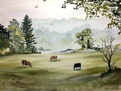 ACEO Ltd Edition Print by Bill Lupton Fell Runner