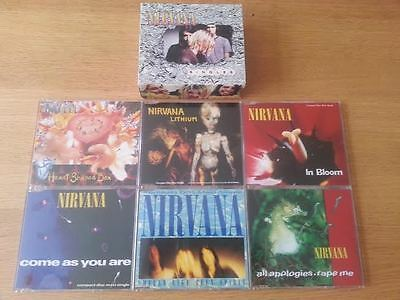 Nirvana - Singles (6 CD Singles Box Set 1995)