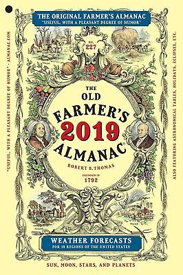 The Old Farmers Almanac 2019 Agricultural Sciences 2019 ed Paperback 1571987738