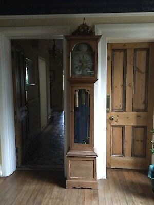 Antique Grandfather clock.  Good Working Order