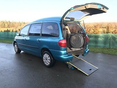 Seat Alhambra 2.0 Automatic Wav Wheelchair Mobility Car Vw Sharan Ford Galaxy