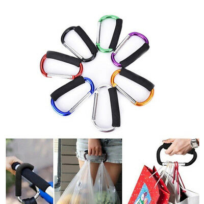 Accessories Stroller Holder Carabiners Organizer Clip Shopping Bag Hook