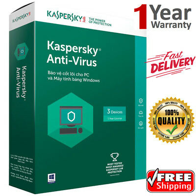 KASPERSKY ANTI-VIRUS Security 2019 3 Device/ 1 Year /GLOBAL KEY /Download 12.54$