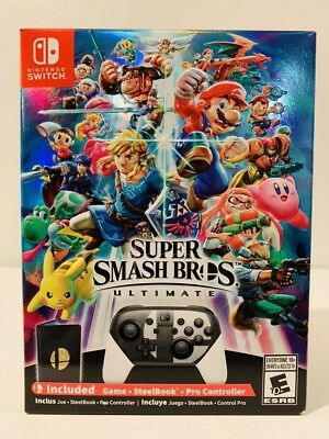 Super Smash Bros Ultimate [SPECIAL EDITION] Nintendo Switch [N. MINT  BRAND NEW]