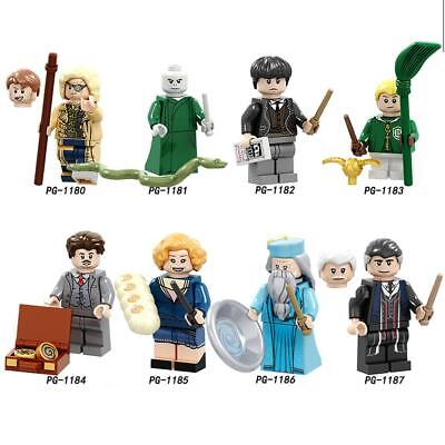 Harry Potter Doll Dumbledore Active Figures Building Block Children Puzzle Block