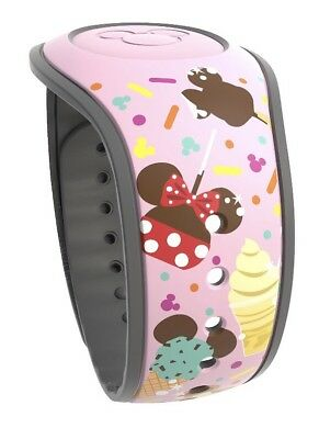 Disney Parks Food Magic Band 2 Dole Whip Pretzel Ice Cream Bar Mickey MagicBand