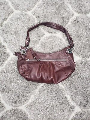 B. MAKOWSKY BROWN Hobo Glove Leather Handbag Shoulder Bag EUC ... 310de49727