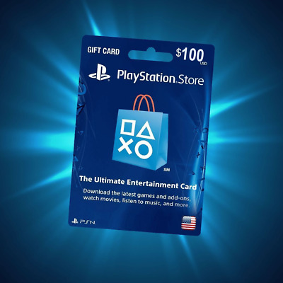 PlayStation Network PSN Gift Card 100 USD UNITED STATES [Online delivery]