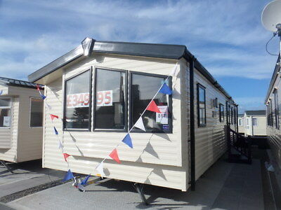 Double Glazed Cheap 2016 Model Static Caravan For Sale In North Wales